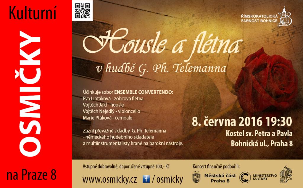 Ensemble Convertendo: housle a flétna v hudbě G. Ph. Telemanna