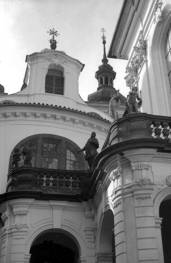 Kostel svatého Havla na Starém Městě; 1981 - Foto: Miroslav Fapšo