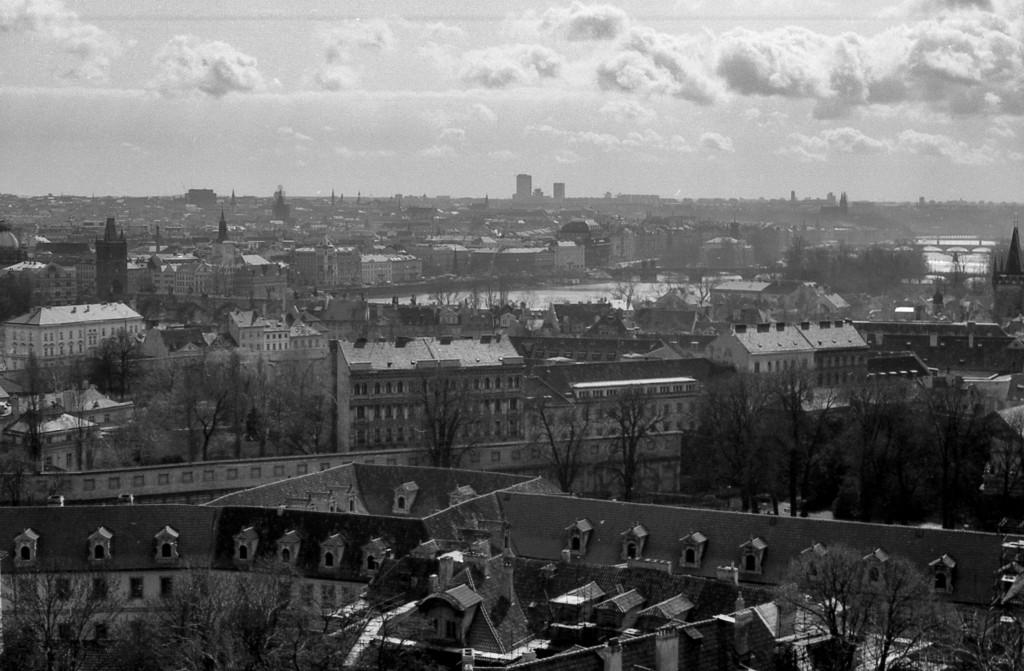 Panorama Prahy; 1981 - Foto: Miroslav Fapšo