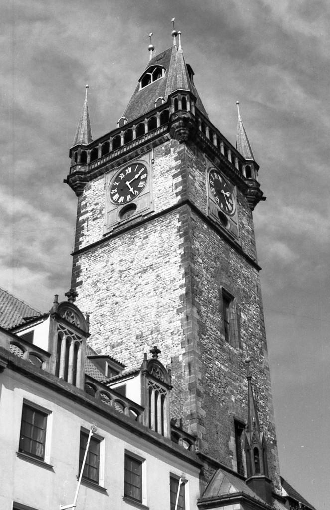 Staroměstská radnice; 1981 - Foto: Miroslav Fapšo