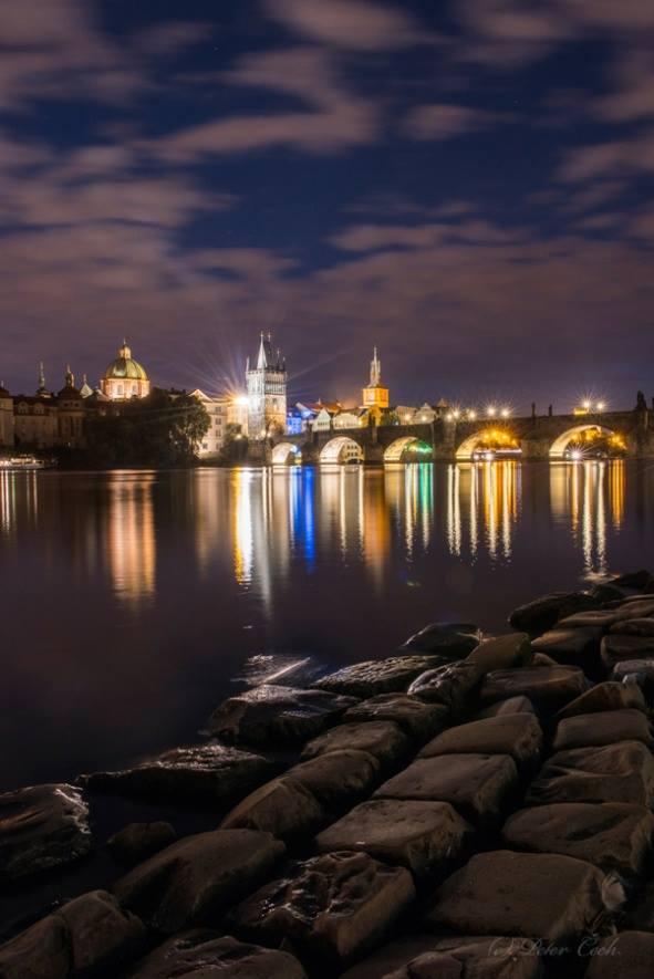 Klid na řece - Foto: Peter Čech