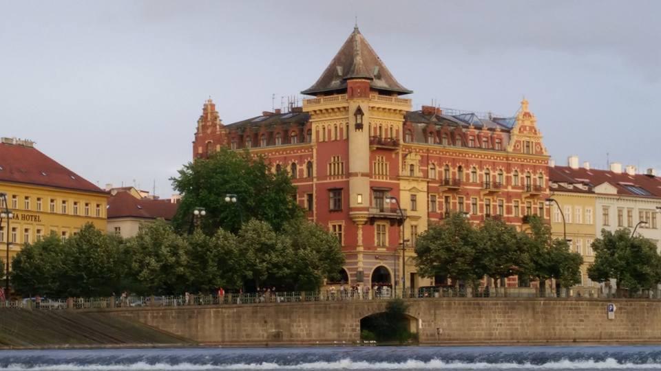 Dům Bellevue na Smetanově nábřeží - Foto: Tereza Černá
