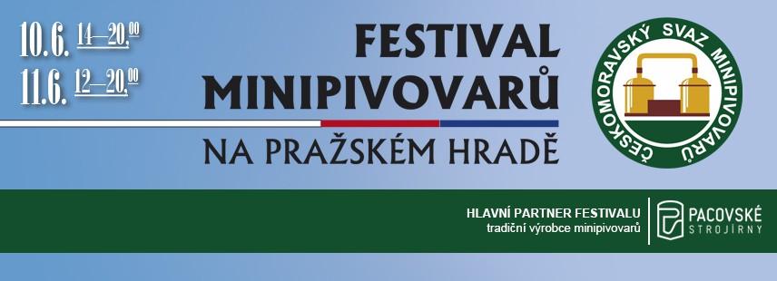 Festival minipivovarů na Pražském hradě 2016