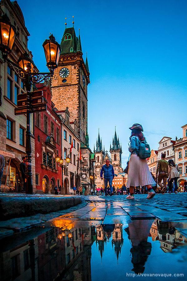 Na Staroměstkém rynku - Foto. Vladimír Novikov