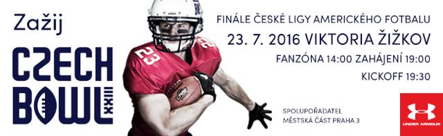 Czech Bowl XXIII - Finále České ligy amerického fotbalu