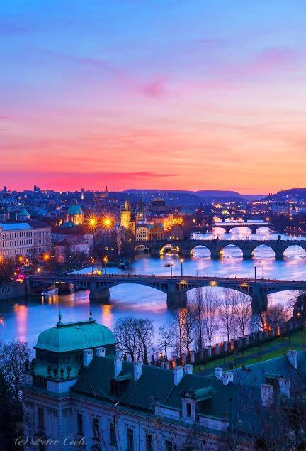 Pražské mosty - Foto: Peter Čech