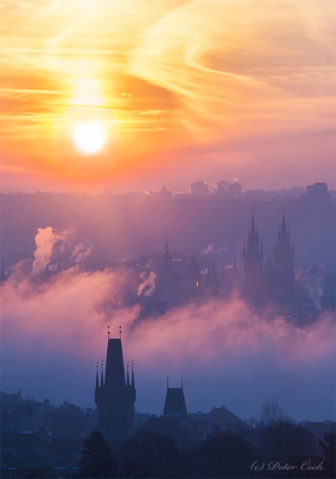 Milující slunce - Foto: Peter Čech