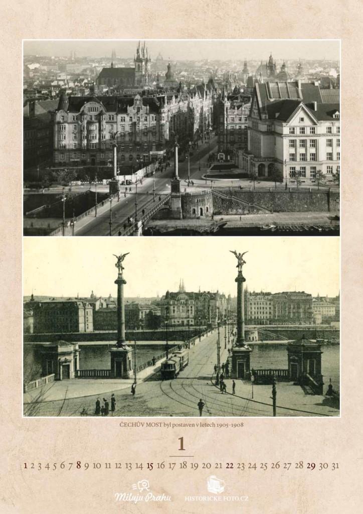 ČECHŮV MOST - Foto: Historicke-foto.cz