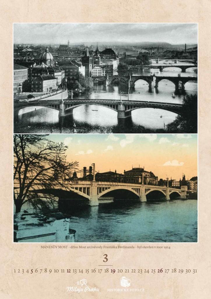 MÁNESŮV MOST - Foto: Historicke-foto.cz