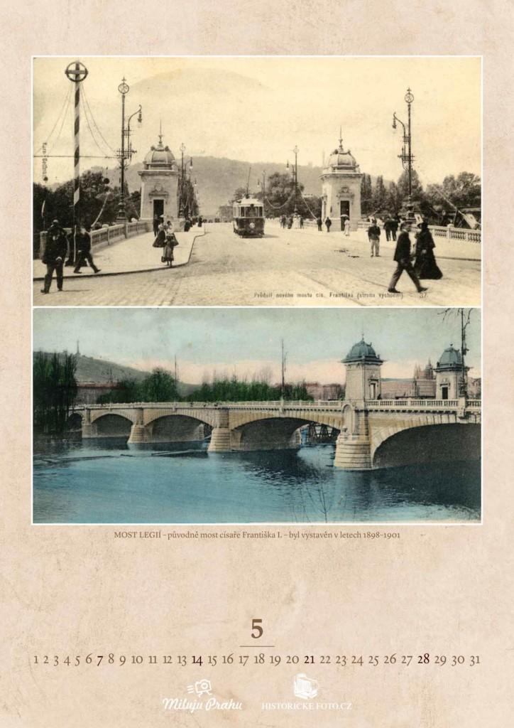 MOST LEGIÍ - Foto: Historicke-foto.cz