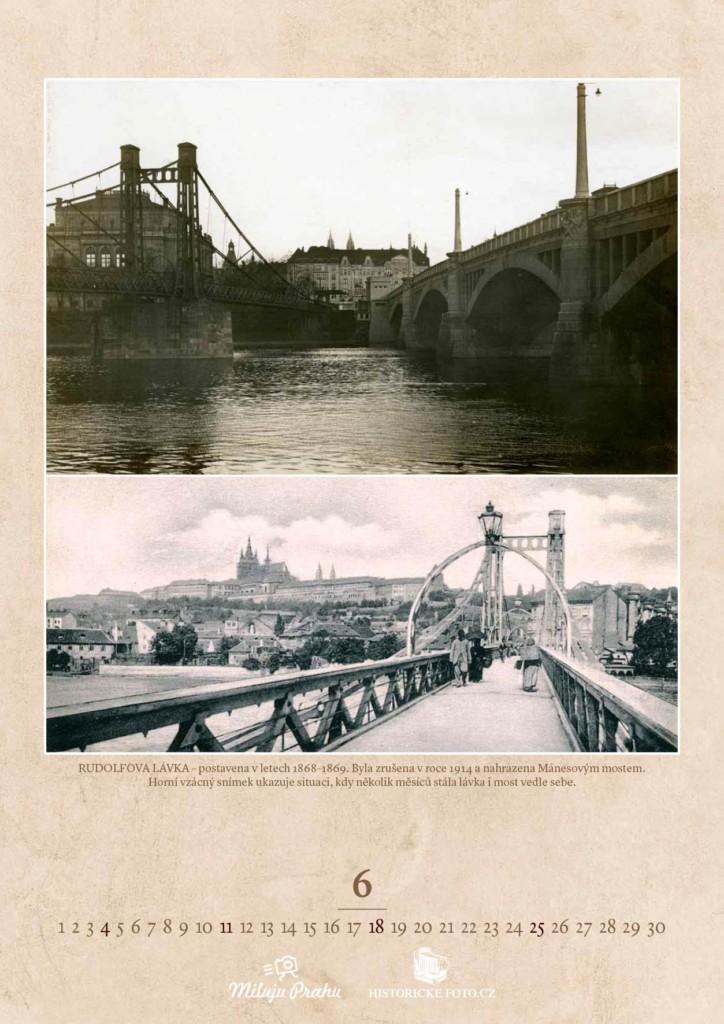 RUDOLFOVA LÁVKA - Foto: Historicke-foto.cz