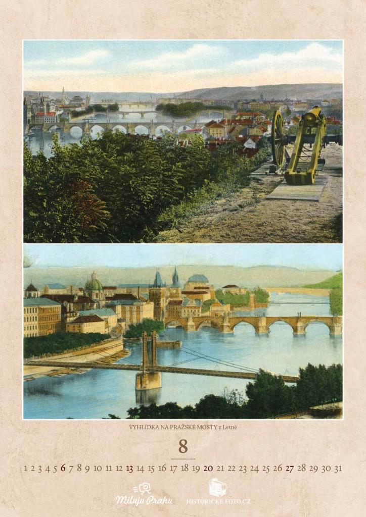 LETENSKÝ VÝHLED NA MOSTY - Foto: Historicke-foto.cz