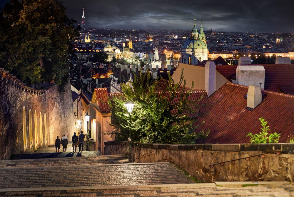 Zámecké schody - Foto: František Novotný