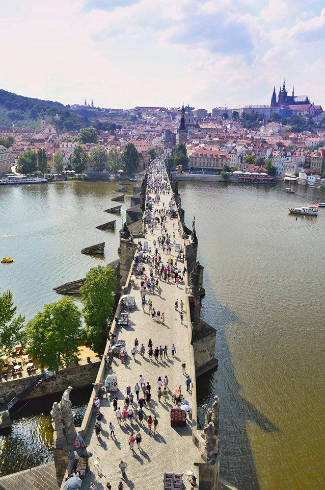 Ze Staroměstské mostecké věže - Foto: Petr Olša