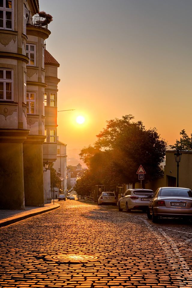Ráno na Pohořelci - Foto: Tomáš Sysel