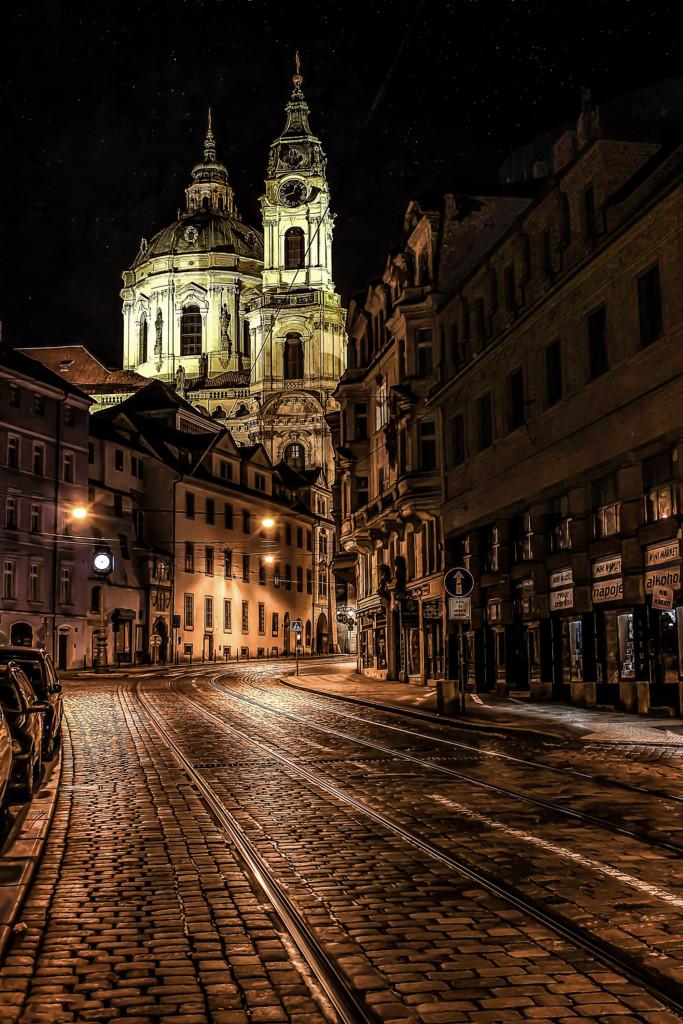Touhle ulicí jezdím často, ale až letos jsem se zastavil a udělal si fotku.- Foto: Milan Bachan