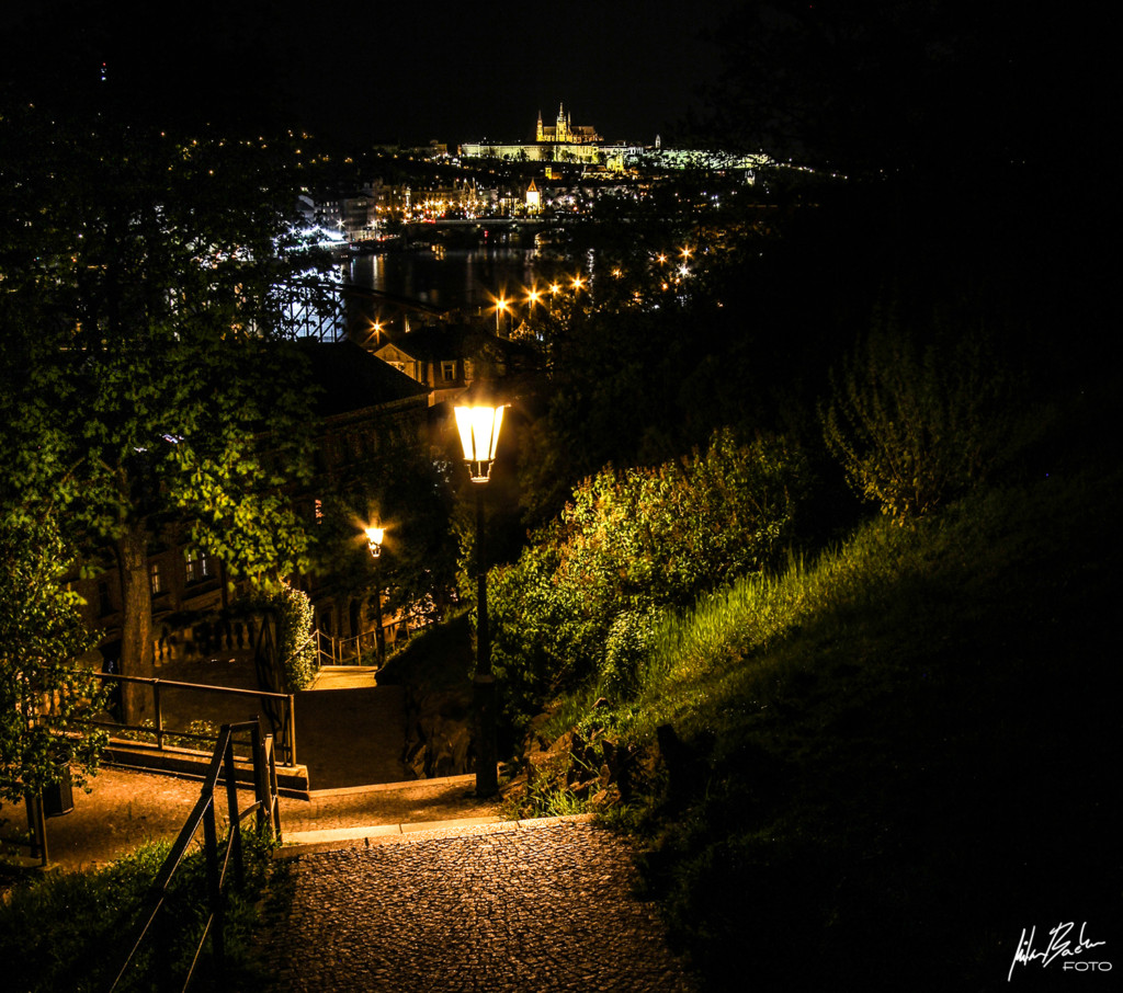 Vyšehrad a pohled na Pražský hrad- Foto: Milan Bachan