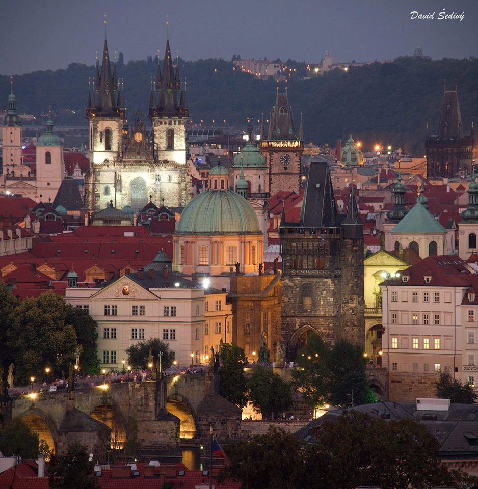 Pražské nocturno - Foto: David Šedivý