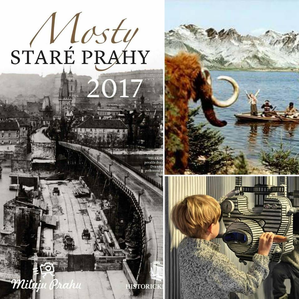 Unikátní Muzeum tvůrce Cesty do pravěku a jedinečné historické fotografie na výstavě Mosty staré Prahy na jednom místě.