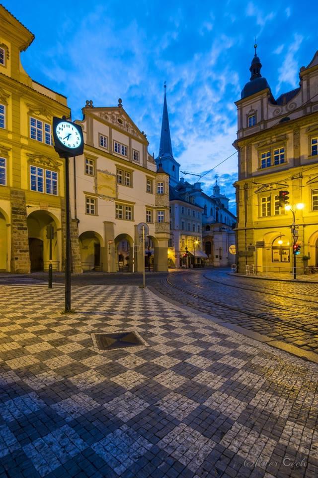 Hodiny malostranské - Foto: Peter Čech
