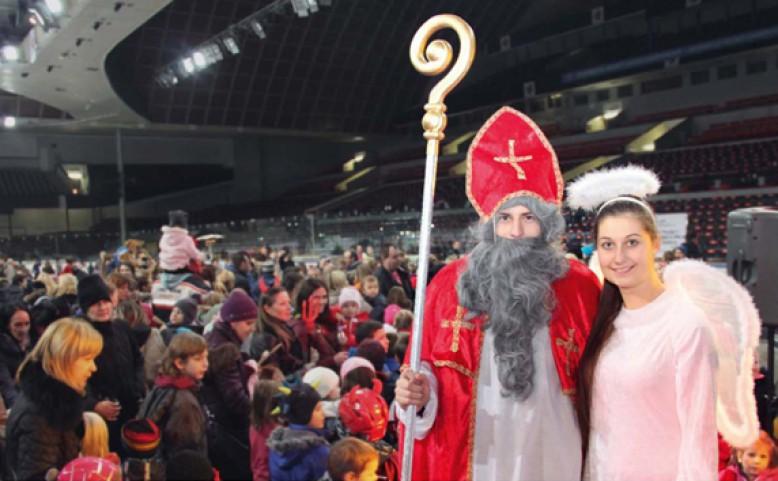 Mikuláš nejen na ledě - Zdroj: www.praha7.cz